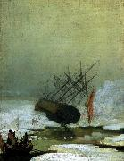 Caspar David Friedrich Wreck in the Sea of Ice oil painting reproduction